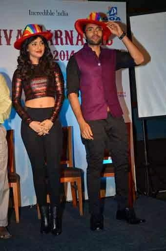 Upcoming Movie Youngistan Promotion At Goa Carnival In Mumbai