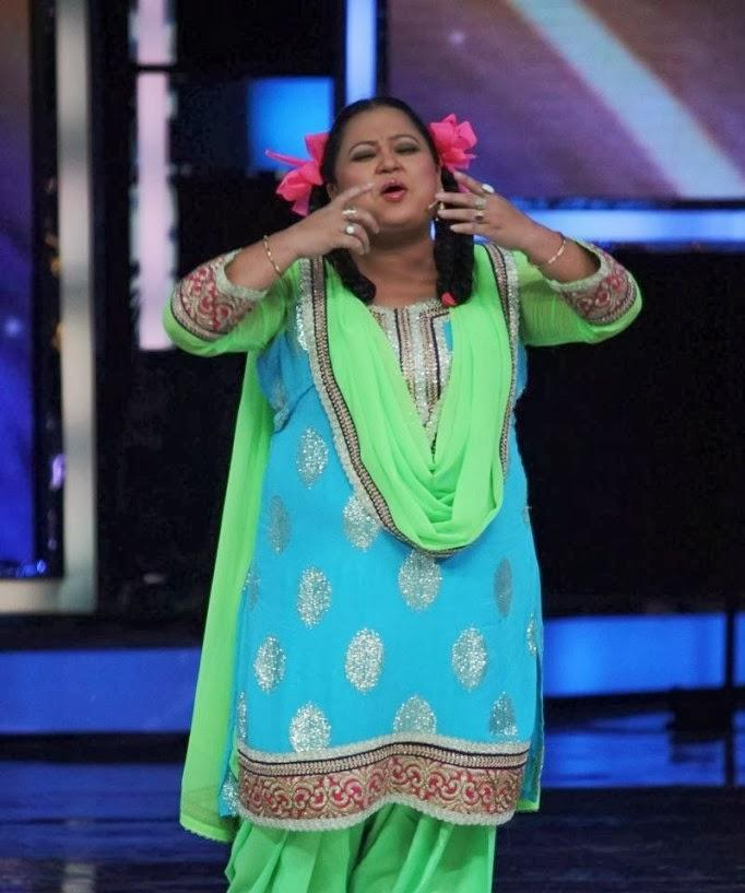 Comedian Bharti Singh Funny Pose During The Promotion Of Main Tera ...
