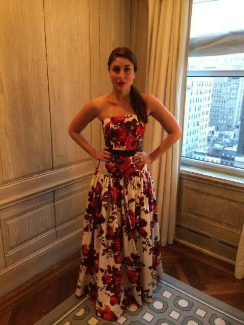 Fashionista Kareena Arrives Arya Dance Gala Event In NYC
