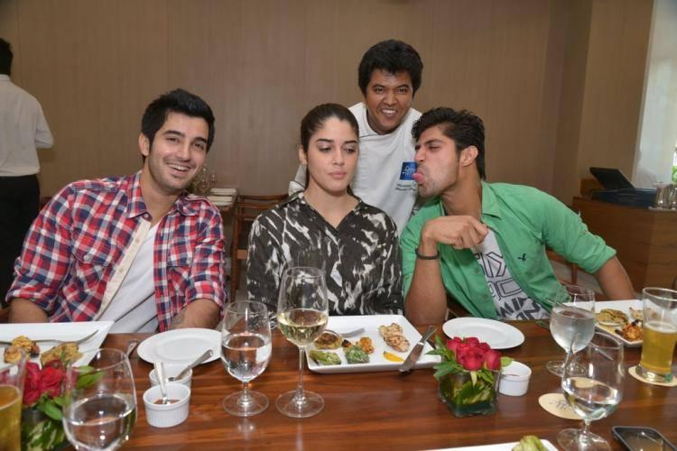 Tanuj Virwani Fun Still During Photo Shoot At Suburban Hotel In Mumbai