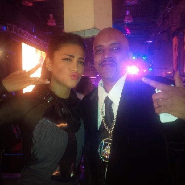 Shruti Hassan At VH1 Sound Nation Awards Organized At The Hard Rock Cafe In Mumbai