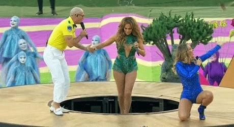 Jennifer Lopez, Pitbull And Claudia Leitte Have Kicked Off World Cup 2014 In Brazil With The Official FIFA Song