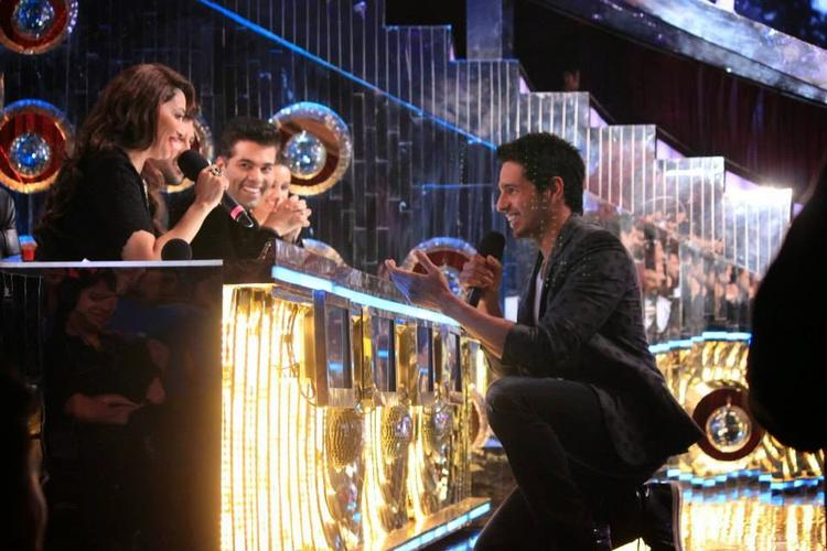 Sidharth,Shraddha And Prachi Desai On The Sets Of Jhalak Dikhhla Jaa 7