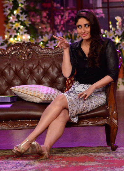 Kareena Gorgeous Look On The Sets Of CNWK During The Promotion Of Singham Returns