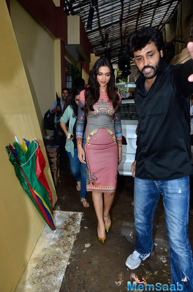 Deepika Snapped At The Sets Of The Star Plus TV Serial Yeh ...