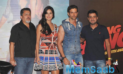Hrithik And Katrina At Bang Bang Title Track Launch Event