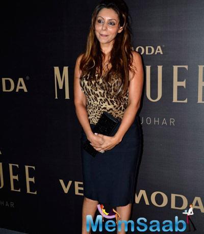 Gauri Khan Come In Support Karan's Vero Moda Fashion Collection