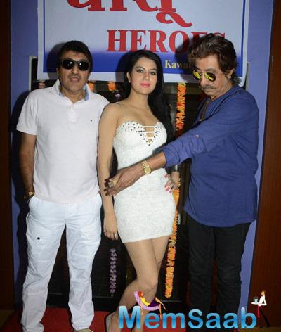 Director Kawal,Shakti And Leading Lady Priyanka Attend Dhansu Heros Muhrat