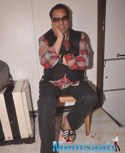 Dharmendra At Badlapur Boys Music Launch