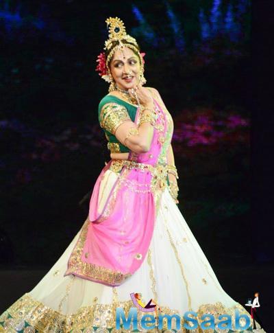 Hema Malini Weaves Magic In Radha Krishna Ballet Dance