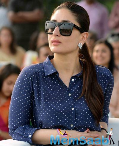 Kareena Kapoor Khan Stylish Look At Bhopal Pataudi Polo Cup 2014