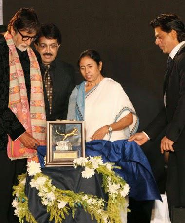 Bachchan Family And SRK At Kolkata International Film Festival 2014