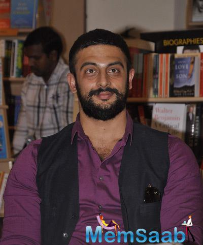 Arunoday Singh And Sudhir Mishra At Nidhie Sharma Book Launch