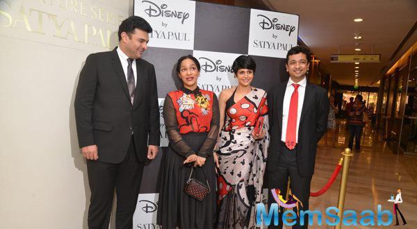 Esha Gupta At Satya Paul Disney Launch