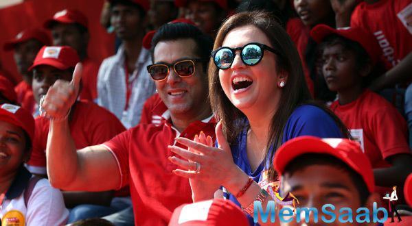 Salman Khan Launches #Grassroots Football Movement