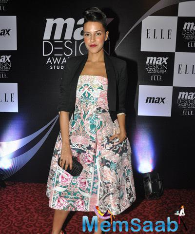 Neha Dhupia Served As One Of The Judges At The Max Elle India Event