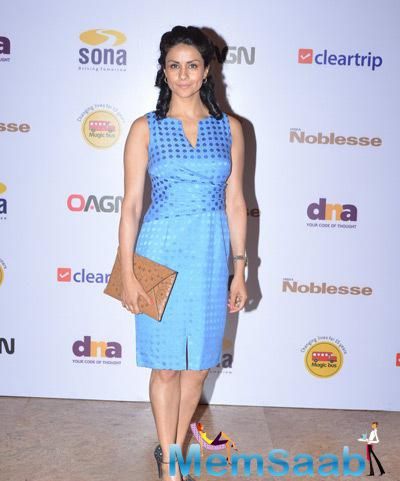 Gul Panag Cool Pose During Magic Bus Charity Dinner 2014
