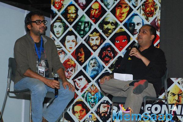 Dibakar Banerjee At Mumbai Film And Comics Convention 2014