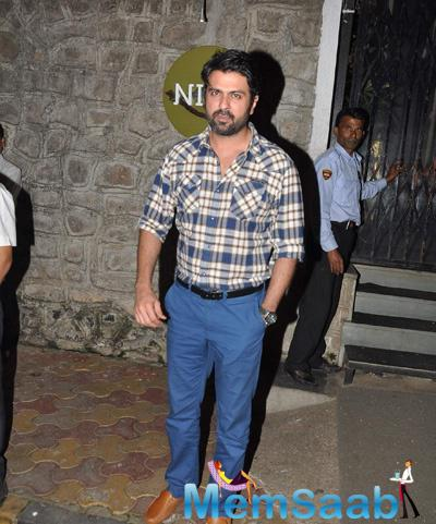 Bollywood Star Harman Baweja Clicked At Nido In Bandra