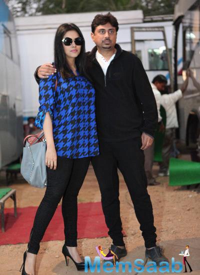 Asin Thottumkal Snapped Arriving For Her Movie Song Shoot