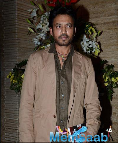Irrfan Khan At Launch Of Lyricist Irshad Kamil's First Book Of Poems 'Ek Maheena Nazmon Ka