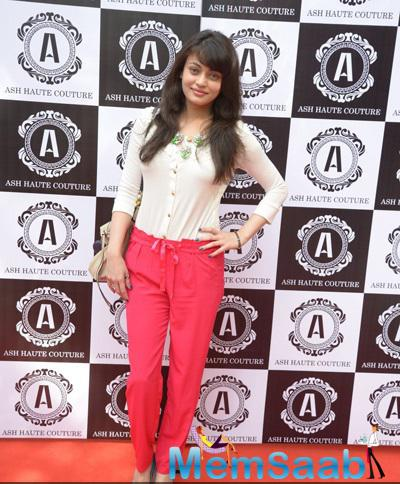 Sneha Ullal Attend The The Ash Haute Couture Opening Event