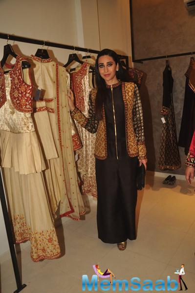Karisma Kapoor Launched Designer Anjali Jani Flagship Store