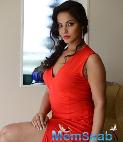 Neetu Chandra Spicy Hot Look Photo Still