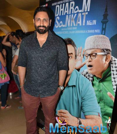 Celebs Attended The Premiere Of Film Dharam Sankat Mein