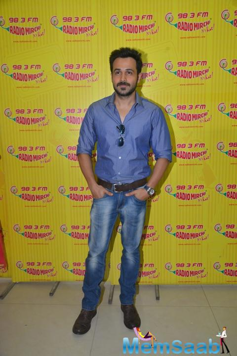 Emraan Hashmi Dashing Look At Radio Channel 98.3 FM Radio Mirchi