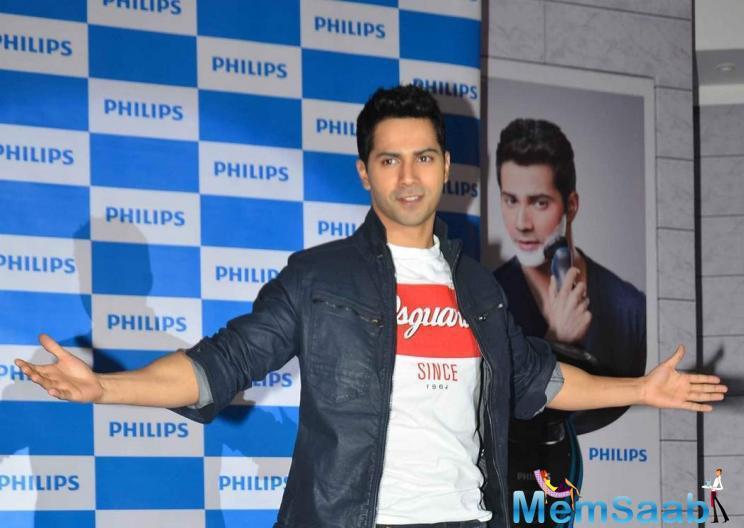 Varun Dhawan To Endorse Philips India's Shaving Range | Memsaab com