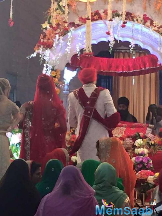 Harbhajan Singh And Geeta Basra Wedding Pics