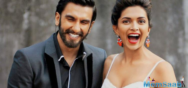 Bollywood hotties Deepika Padukone and Ranveer Singh finally moved forward for the very first time  Deepika Padukone openly reffered Ranbir Singh as her boyfriend