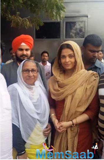 While filming, she met the real Dalbir Kaur, who campaigned relentlessly for her brother's release.