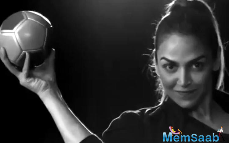 Esha Deol chosen as a brand ambassador for India's Handball game