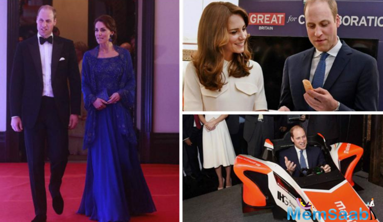 The Duke and Duchess of Cambridge, Prince William, and Kate Middleton arrived in Mumbai on Sunday on their very first visit to India.