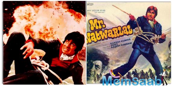 Star of the Millennium Amitabh celebrates 37 years of 'Mr. Natwarlal'