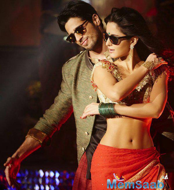 katrina kaif and Sidharth Malhotra is one hot jodi we were waiting to see onscreen. With Baar Baar Dekho that wish came true.The duo look from an upcoming song titled