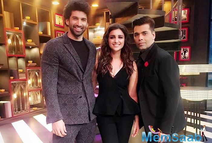 Koffee With Karan Season 5:Parineeti Chopra, Aditya Roy Kapur next on guest list