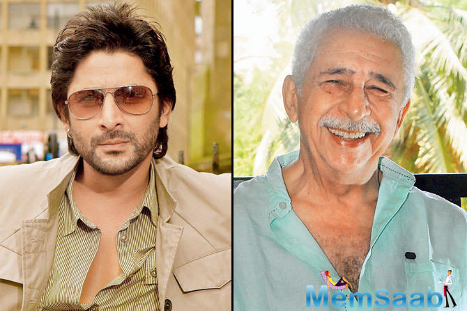 "Naseeruddin Shah, Arshad Warsi to team up again for their next ""Koi Jaane Na"""