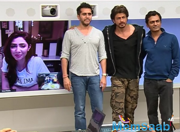 Mahira Khan revealed my family was screaming at SRK intro and not mine