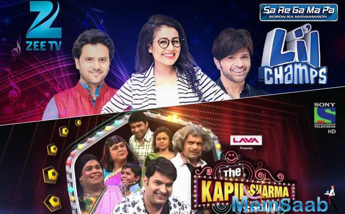 Sa Re Ga Ma Pa Replaces The Kapil Sharma Show As The No 1 Non-Fiction Show