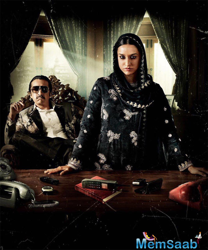 Here Shraddha Kapoor reveals her brother Siddhanth's look as Dawood Ibrahim