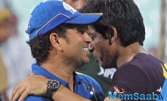 Did You Know? Bollywood superstar Shah Rukh Khan considers batting great Sachin Tendulkar as his guiding light.