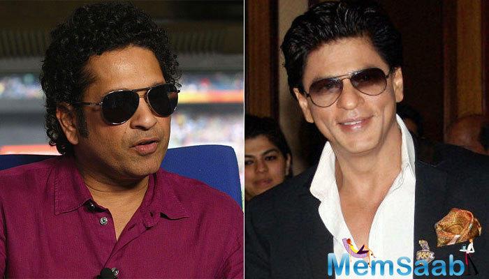 Superstar SRK considers batting great Sachin Tendulkar as his guiding light