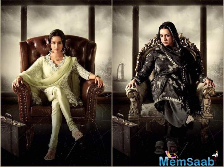 Shraddha Kapoor's transformation for both looks of Haseena is too smart!