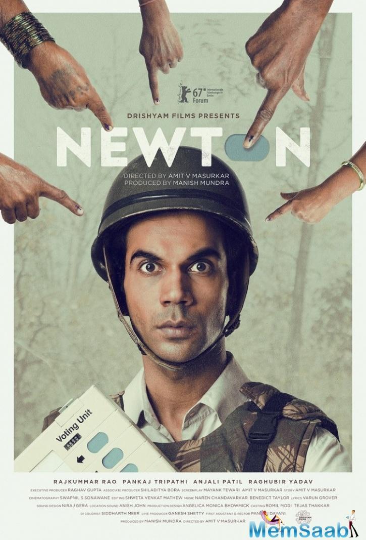 Rajkummar Rao's Newton wins top honour At the Hong Kong Film Fest