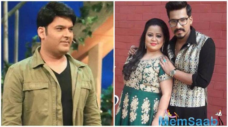 WHAT? Bharti Singh denied to shoot with Kapil Sharma