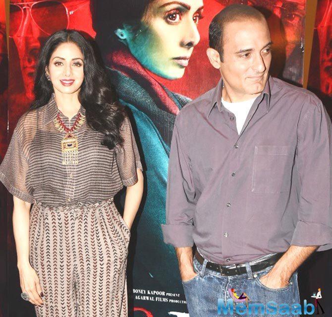 Sridevi: I never imagined I'd work with Akshaye Khanna