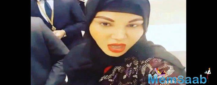 Valmiki remark case: Rakhi Sawant attends hearing in a burqa, after getting bail from Ludhiana court